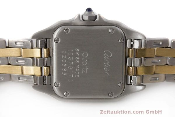 Used luxury watch Cartier Panthere steel / gold quartz Kal. 157  | 162280 09