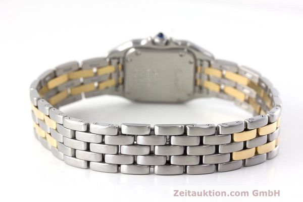 Used luxury watch Cartier Panthere steel / gold quartz Kal. 157  | 162280 11