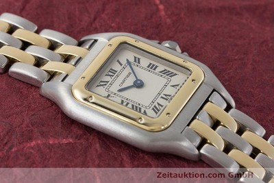 CARTIER PANTHERE STEEL / GOLD QUARTZ KAL. 157 [162280]