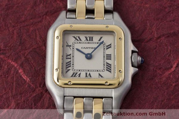 Used luxury watch Cartier Panthere steel / gold quartz Kal. 157  | 162280 16