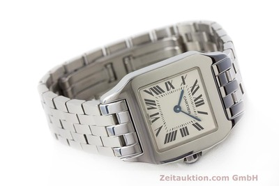 CARTIER SANTOS STEEL QUARTZ KAL. 690 LP: 3500EUR [162286]