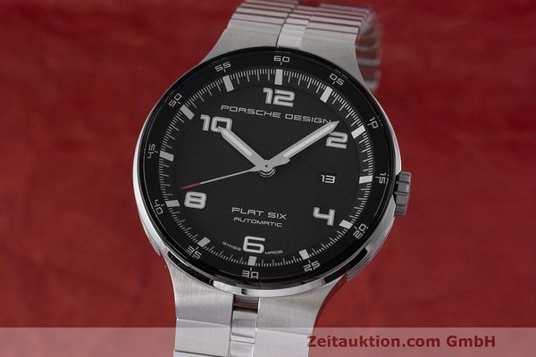 PORSCHE DESIGN FLAT SIX STEEL AUTOMATIC KAL. SELLITA 300 LP: 2250EUR [162287]