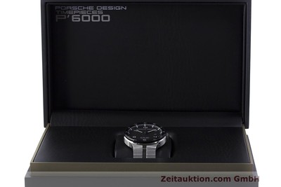 PORSCHE DESIGN FLAT SIX ACIER AUTOMATIQUE KAL. SELLITA 300 LP: 2250EUR [162287]