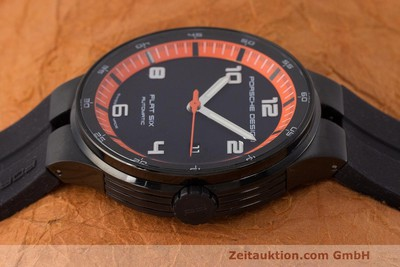 PORSCHE DESIGN FLAT SIX STEEL AUTOMATIC KAL. SELLITA 300 LP: 2250EUR [162290]