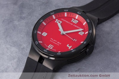 PORSCHE DESIGN FLAT SIX STEEL AUTOMATIC KAL. SELLITA 300 LP: 2250EUR [162291]