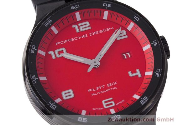 Used luxury watch Porsche Design Flat Six steel automatic Kal. Sellita 300 Ref. 6350.43  | 162291 02