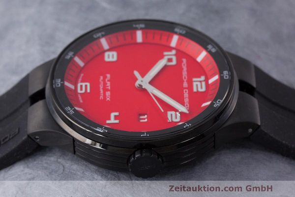 Used luxury watch Porsche Design Flat Six steel automatic Kal. Sellita 300 Ref. 6350.43  | 162291 05