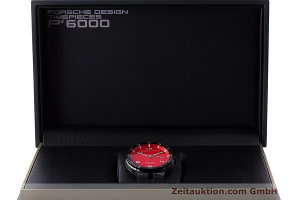 Used luxury watch Porsche Design Flat Six steel automatic Kal. Sellita 300 Ref. 6350.43  | 162291 07