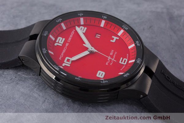Used luxury watch Porsche Design Flat Six steel automatic Kal. Sellita 300 Ref. 6350.43  | 162291 13