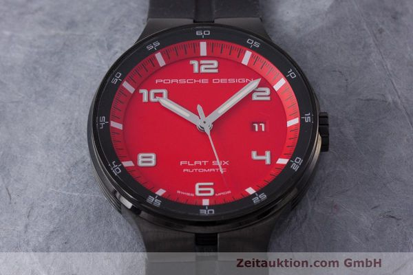 Used luxury watch Porsche Design Flat Six steel automatic Kal. Sellita 300 Ref. 6350.43  | 162291 14