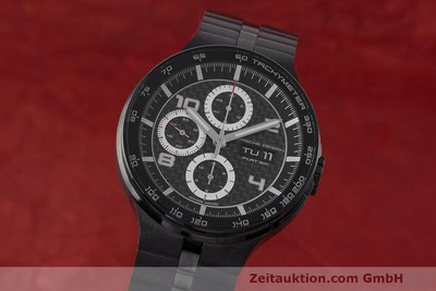 PORSCHE DESIGN FLAT SIX CHRONOGRAPH STEEL AUTOMATIC KAL. ETA 7750 LP: 3750EUR [162293]