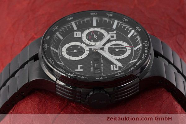 Used luxury watch Porsche Design Flat Six chronograph steel automatic Kal. ETA 7750 Ref. 6360.43  | 162293 05