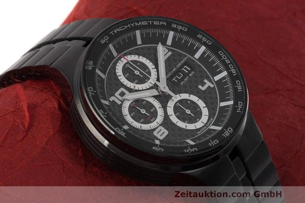 Used luxury watch Porsche Design Flat Six chronograph steel automatic Kal. ETA 7750 Ref. 6360.43  | 162293 13