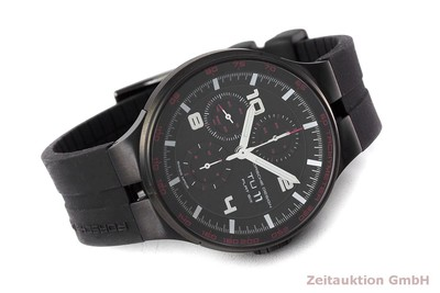 PORSCHE DESIGN FLAT SIX CHRONOGRAPH STEEL AUTOMATIC KAL. ETA 7750 LP: 3750EUR [162295]