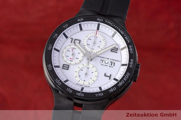 PORSCHE DESIGN FLAT SIX CHRONOGRAPH STEEL AUTOMATIC KAL. ETA 7750 LP: 3750EUR  [162296]