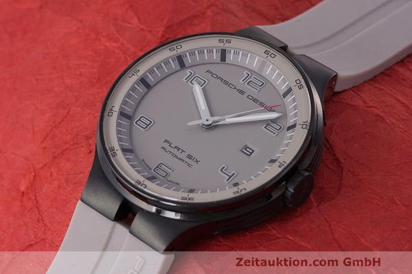 Used luxury watch Porsche Design Flat Six steel automatic Kal. Sellita 300 Ref. 6350.43  | 162297 01