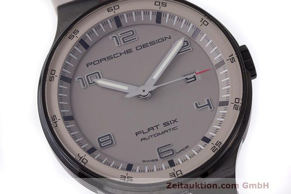 Used luxury watch Porsche Design Flat Six steel automatic Kal. Sellita 300 Ref. 6350.43  | 162297 02