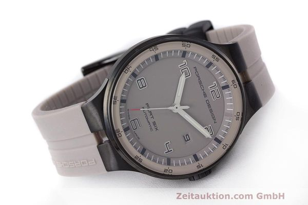 Used luxury watch Porsche Design Flat Six steel automatic Kal. Sellita 300 Ref. 6350.43  | 162297 03