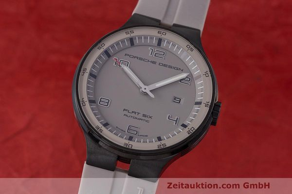 Used luxury watch Porsche Design Flat Six steel automatic Kal. Sellita 300 Ref. 6350.43  | 162297 04