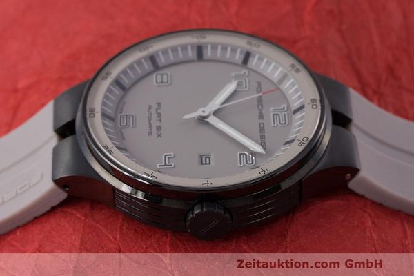 Used luxury watch Porsche Design Flat Six steel automatic Kal. Sellita 300 Ref. 6350.43  | 162297 05