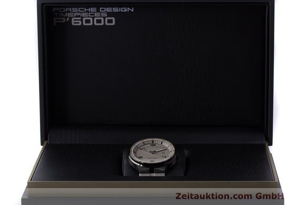Used luxury watch Porsche Design Flat Six steel automatic Kal. Sellita 300 Ref. 6350.43  | 162297 07