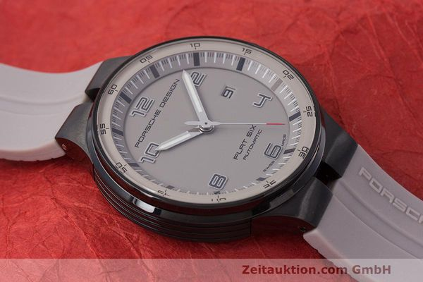Used luxury watch Porsche Design Flat Six steel automatic Kal. Sellita 300 Ref. 6350.43  | 162297 15