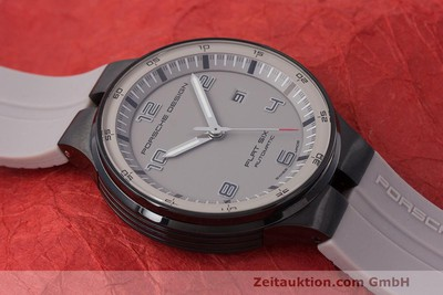 PORSCHE DESIGN FLAT SIX STEEL AUTOMATIC KAL. SELLITA 300 LP: 2250EUR [162297]
