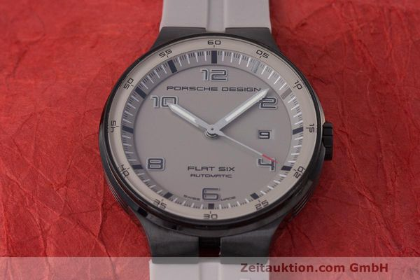 Used luxury watch Porsche Design Flat Six steel automatic Kal. Sellita 300 Ref. 6350.43  | 162297 16
