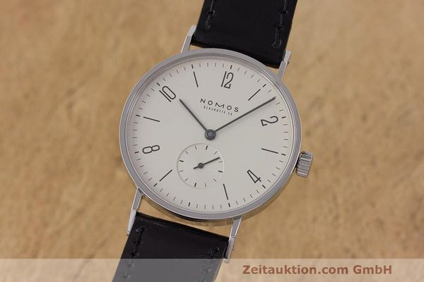 NOMOS TANGENTE STEEL MANUAL WINDING KAL. ETA 7001 LP: 1380EUR [162298]