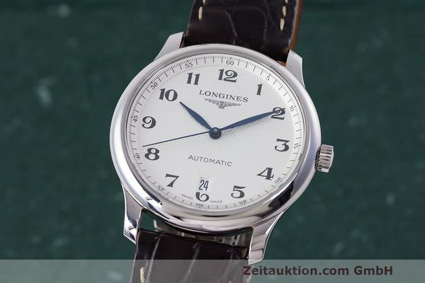LONGINES MASTER COLLECTION AUTOMATIK HERRENUHR L2.628.4 GLASBODEN NP: 1670,- Euro [162299]