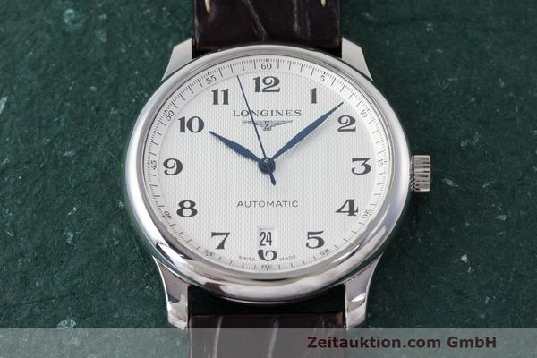 Used luxury watch Longines Master Collection steel automatic Kal. L619.2 ETA 2892A2 Ref. L2.628.4  | 162299 17