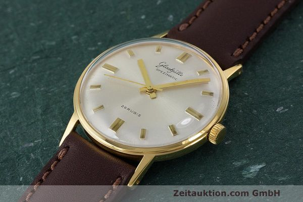 Used luxury watch Glashütte Spezimatic gold-plated automatic Kal. 74 VINTAGE  | 162303 01