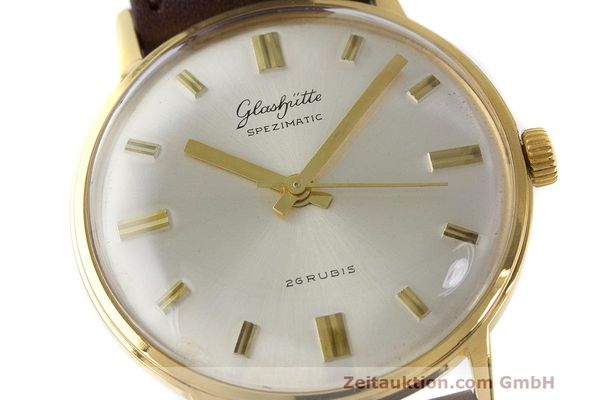 Used luxury watch Glashütte Spezimatic gold-plated automatic Kal. 74 VINTAGE  | 162303 02