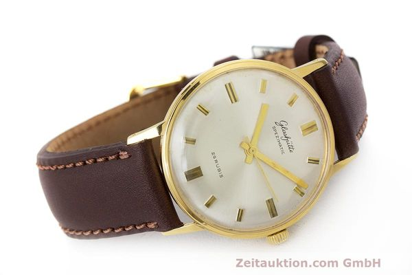 Used luxury watch Glashütte Spezimatic gold-plated automatic Kal. 74 VINTAGE  | 162303 03