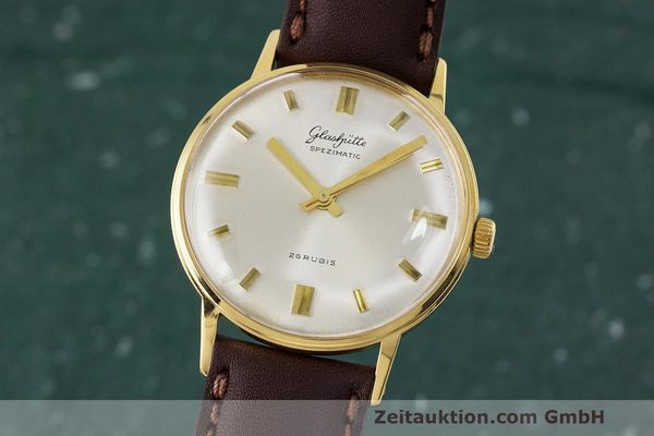 Used luxury watch Glashütte Spezimatic gold-plated automatic Kal. 74 VINTAGE  | 162303 04