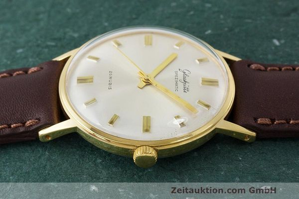 Used luxury watch Glashütte Spezimatic gold-plated automatic Kal. 74 VINTAGE  | 162303 05