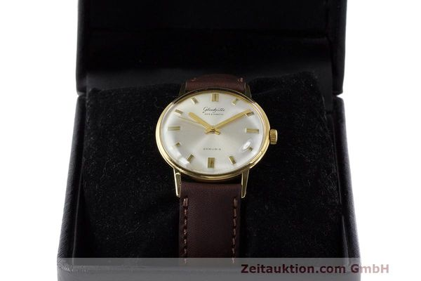 Used luxury watch Glashütte Spezimatic gold-plated automatic Kal. 74 VINTAGE  | 162303 07