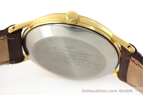 Used luxury watch Glashütte Spezimatic gold-plated automatic Kal. 74 VINTAGE  | 162303 08