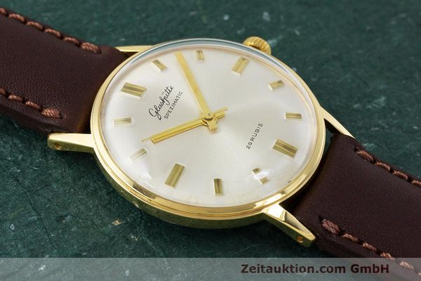Used luxury watch Glashütte Spezimatic gold-plated automatic Kal. 74 VINTAGE  | 162303 12