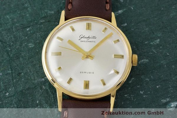 Used luxury watch Glashütte Spezimatic gold-plated automatic Kal. 74 VINTAGE  | 162303 13