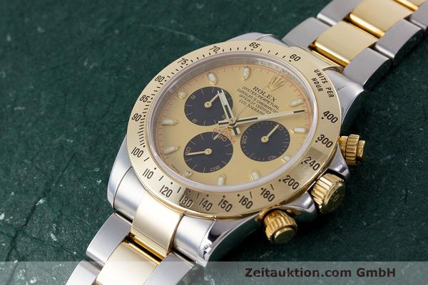 Used luxury watch Rolex Daytona chronograph steel / gold automatic Kal. 4130 Ref. 116523  | 162306 01