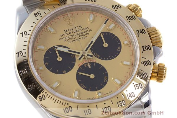 Used luxury watch Rolex Daytona chronograph steel / gold automatic Kal. 4130 Ref. 116523  | 162306 02