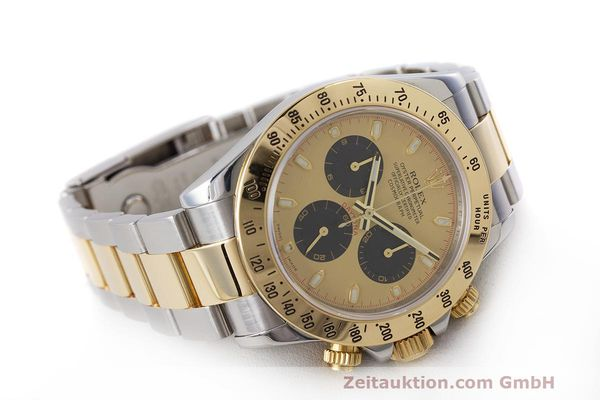 Used luxury watch Rolex Daytona chronograph steel / gold automatic Kal. 4130 Ref. 116523  | 162306 03