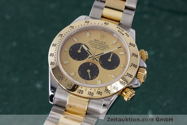 Used luxury watch Rolex Daytona chronograph steel / gold automatic Kal. 4130 Ref. 116523  | 162306 04