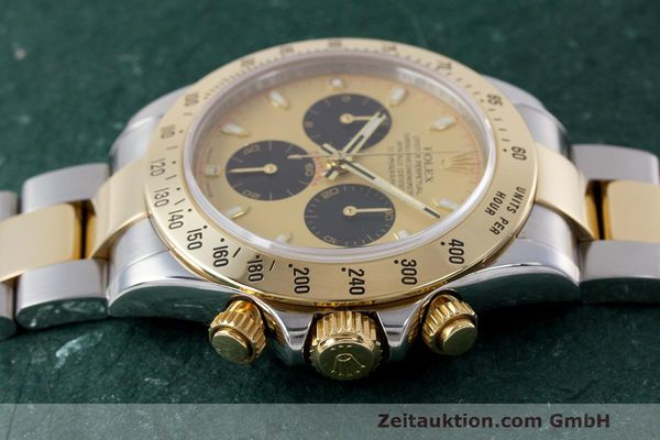 Used luxury watch Rolex Daytona chronograph steel / gold automatic Kal. 4130 Ref. 116523  | 162306 05
