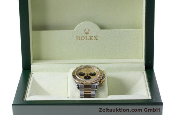 Used luxury watch Rolex Daytona chronograph steel / gold automatic Kal. 4130 Ref. 116523  | 162306 07