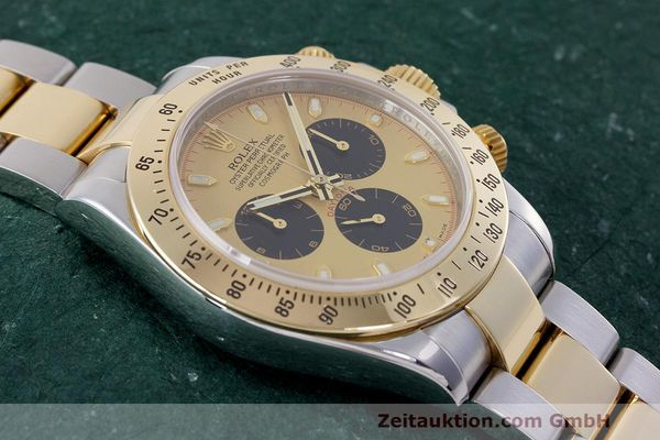 Used luxury watch Rolex Daytona chronograph steel / gold automatic Kal. 4130 Ref. 116523  | 162306 17