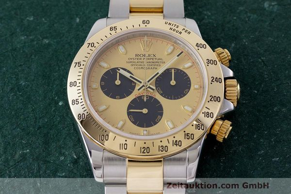 Used luxury watch Rolex Daytona chronograph steel / gold automatic Kal. 4130 Ref. 116523  | 162306 18
