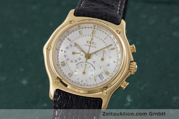 EBEL LE MODULOR CHRONOGRAPH 18 CT GOLD AUTOMATIC KAL. 137 [162315]