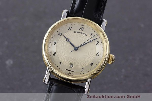 CHRONOSWISS KAIROS STEEL / GOLD AUTOMATIC KAL. ETA 2892-2 LP: 4450EUR  [162317]
